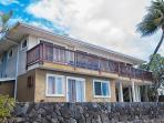Honolulu Oceanfront Villa from the beach