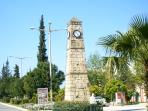 centre of the village with great turkish market
