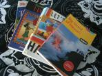 I'm a Fodors Hawaii guidebook author, all these are available for you to borrow