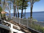 Upper Deck overlooking Penobscot Bay