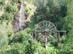 WATER WHEEL - LANDMARK OF IDAHO SPRINGS