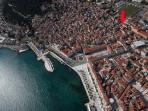 Room has top position in Split old town