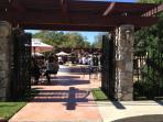 La Buena Vida Vineyards just 3 HOUSE walk.  Great place for Wine, Food and Live Entertainment