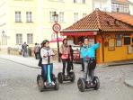 Experience Prague on a segway