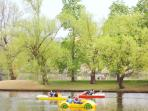 Rent a boat and experience the Vlatava River first hand!