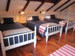 3rd Floor Bedroom, 3 Twin Beds