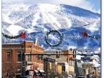 The town of Steamboat in winter