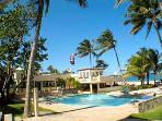 ONLY full service resort on Kitebeach with all day AND night Beach front pool, bar and restaurant