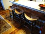 Barstools in the Kitchen