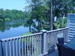 balconey view of lagoon