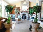 The Sun Room. A great gathering place for meals or afternoon tea.
