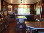 The kitchen as 2 ovens so it makes entertaining large guests an easy process.