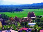 Silverwood Theme Park is also close to us.