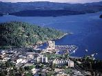 This is beautiful Coeur d'Alene.