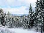 The winter view from our deck.