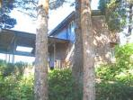 Beachfront Chalet Style Home with Panoramic Views