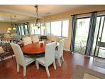 Dining Room with Golf View from patio