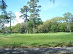Expansive View of Golf Course and Fairway for multiple Holes