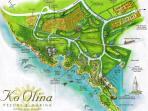 Ko Olina Map