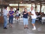 Dancing at Gros Marina to Cajun music