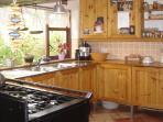 Cooking corner.
