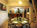 Dining Room with Designer Furniture and Kitchen with Cook/Maid 24/7