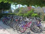 Plenty of bike parking at Mariner Pointe