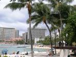 Lively Waikiki Beach