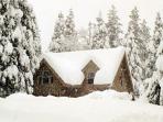 Morton Cabin, in Big Trees Village, near Bear Valley Ski Resort