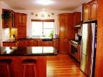 Gourmet Timber and Granite Kitchen