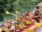 White Water rafting right in Lake Luzerne or Lake George