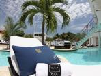 VIP treatment at the Pool