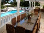 Outdoor Patio and Table Villa