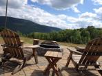 Fire pit view - enjoy s'mores - and the best stars you've ever seen
