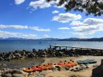Free kayak rentals