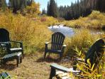 Fall is a Beautiful Time to relax by the River