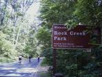 Rock Creek Park at your doorstep.