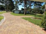 PAVERS DRIVE TO HOUSE