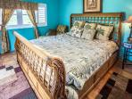 King bedroom overlooks the ocean, cable TV, iPod/iPhone dock and alarm clock and radio