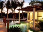 Bedroom 5 at dusk - Direct lagoon Access