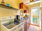 Kitchen has everything you need to meet you culinary needs.