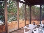 Second screened porch off of Family/TV Room