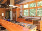 Kitchen with Gas Cooktop and Stainless Steel Appliances