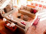 Living and Dining Areas from Loft