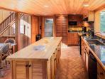 Kitchen, Center Island and Breakfast Nook
