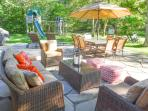 Patio Outdoor Dining, Children's Play Area
