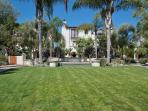 Head to the Metropulos Market nearby or relax in the outdoor common area with lawn, palm trees, gardens, and fountain.