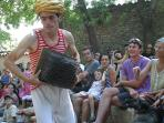 Many all public performances in Minervois, especially in summer