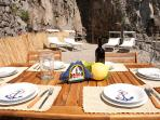 Your private deck, the ideal place for your outdoor lunch/dinner
