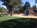Community Park One block away